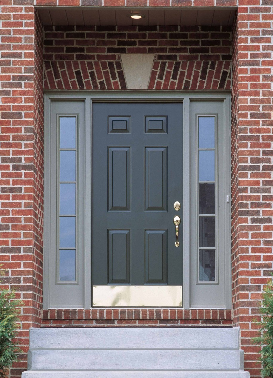 4 signs it s time to replace your front door 4 brothers - Door colors for brown house ...